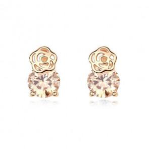 Ohrringe stecker gold mit stein