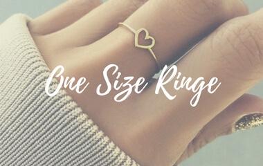 Hübsche One Size Ringe entdecken
