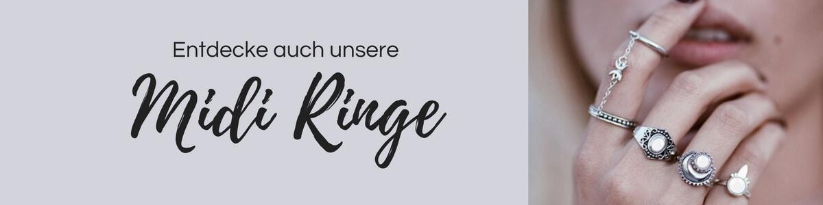 Midi Ringe und Ringsets jetzt online kaufen