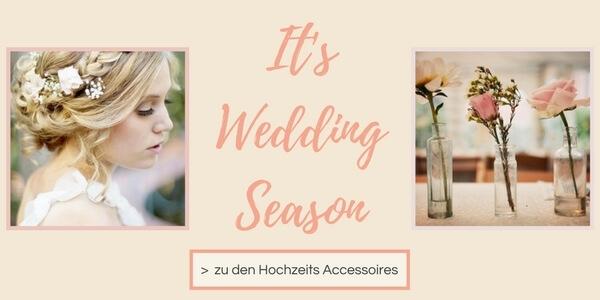Schmuck und Accessoires im Wedding Look entdecken