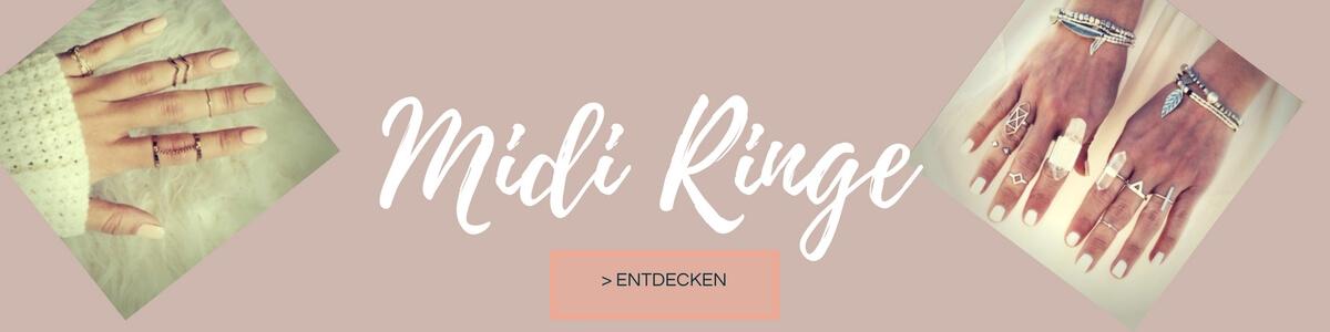 Jetzt verschiedene Midi Ring Sets finden